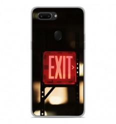 Coque en silicone Oppo R15 Pro - Exit