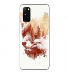 Coque en silicone Samsung Galaxy S20 - RF Blind Fox