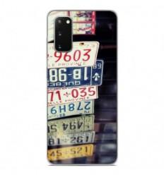 Coque en silicone Samsung Galaxy S20 - Quebec