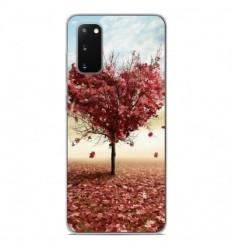 Coque en silicone Samsung Galaxy S20 - Arbre Love
