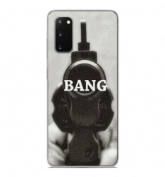 Coque en silicone Samsung Galaxy S20 - Bang