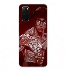 Coque en silicone Samsung Galaxy S20 - Bruce lee