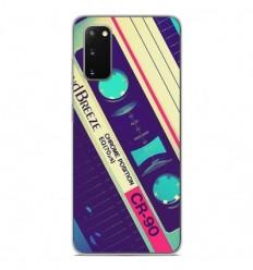 Coque en silicone Samsung Galaxy S20 - Cassette Vintage