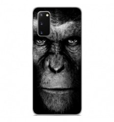 Coque en silicone Samsung Galaxy S20 - Singe
