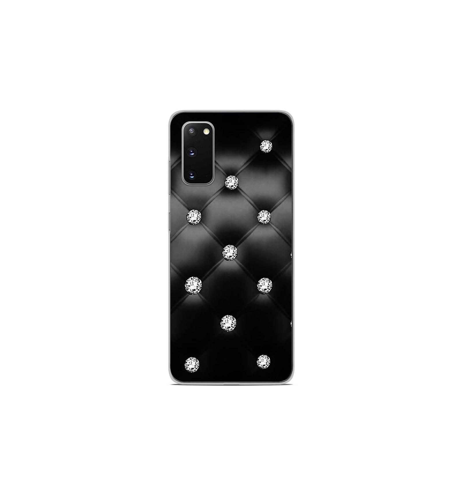 Coque en silicone Samsung Galaxy S20 - Strass