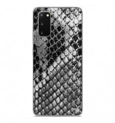 Coque en silicone Samsung Galaxy S20 - Texture Python