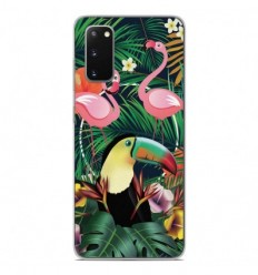 Coque en silicone Samsung Galaxy S20 - Tropical Toucan