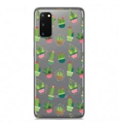 Coque en silicone Samsung Galaxy S20 - Cactus