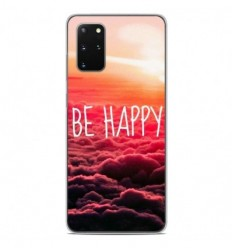 Coque en silicone Samsung Galaxy S20 Plus - Be Happy nuage