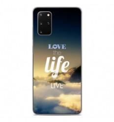Coque en silicone Samsung Galaxy S20 Plus - Citation 06