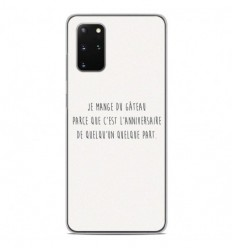 Coque en silicone Samsung Galaxy S20 Plus - Citation 12