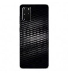 Coque en silicone Samsung Galaxy S20 Plus - Dark Metal
