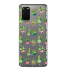 Coque en silicone Samsung Galaxy S20 Plus - Cactus