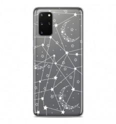 Coque en silicone Samsung Galaxy S20 Plus - Lignes étoilées