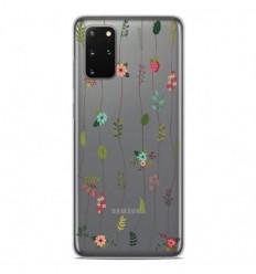 Coque en silicone Samsung Galaxy S20 Plus - Montée de fleurs