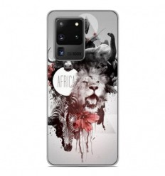 Coque en silicone Samsung Galaxy S20 Ultra - Africa Swag