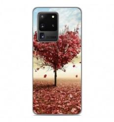 Coque en silicone Samsung Galaxy S20 Ultra - Arbre Love