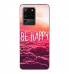 Coque en silicone Samsung Galaxy S20 Ultra - Be Happy nuage