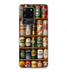 Coque en silicone Samsung Galaxy S20 Ultra - Canettes