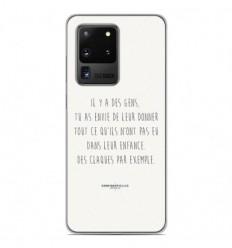Coque en silicone Samsung Galaxy S20 Ultra - Citation 01