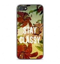 Coque en silicone Apple iPhone SE 2020 - Stay classy