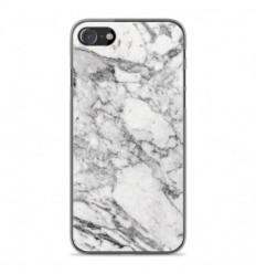 Coque en silicone Apple iPhone SE 2020 - Marbre Blanc