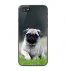 Coque en silicone Apple iPhone SE 2020 - Bulldog français