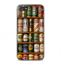 Coque en silicone Apple iPhone SE 2020 - Canettes