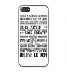 Coque en silicone Apple iPhone SE 2020 - Citation 11