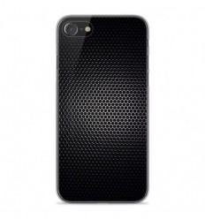 Coque en silicone Apple iPhone SE 2020 - Dark Metal