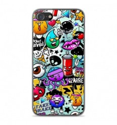 Coque en silicone Apple iPhone SE 2020 - Graffiti 2
