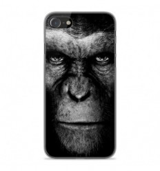 Coque en silicone Apple iPhone SE 2020 - Singe