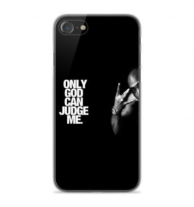 Coque en silicone Apple iPhone SE 2020 - Tupac
