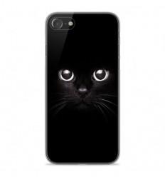 Coque en silicone Apple iPhone SE 2020 - Yeux de chat