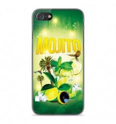 Coque en silicone Apple iPhone SE 2020 - Mojito Forêt