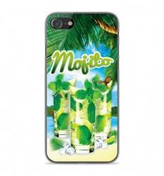 Coque en silicone Apple iPhone SE 2020 - Mojito Plage