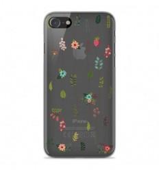 Coque en silicone Apple iPhone SE 2020 - Montée de fleurs