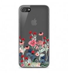 Coque en silicone Apple iPhone SE 2020 - Printemps en fleurs