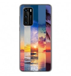 Coque en silicone Huawei P40 - Aloha