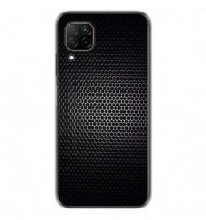 Coque en silicone Huawei P40 Lite - Dark Metal