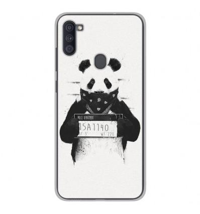 Coque en silicone Samsung Galaxy A11 - BS Bad Panda