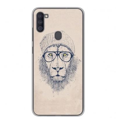 Coque en silicone Samsung Galaxy A11 - BS Cool Lion