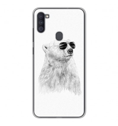 Coque en silicone Samsung Galaxy A11 - BS Sunny bear