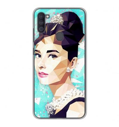 Coque en silicone Samsung Galaxy A11 - ML Hepburn