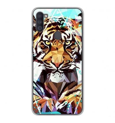 Coque en silicone Samsung Galaxy A11 - ML It Tiger