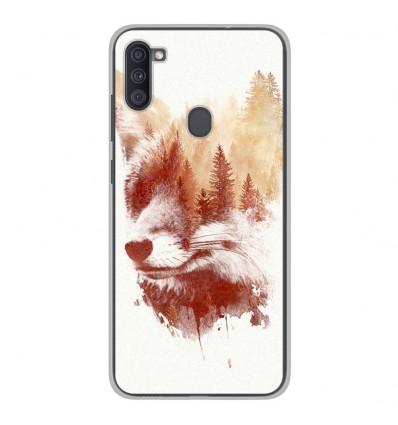 Coque en silicone Samsung Galaxy A11 - RF Blind Fox