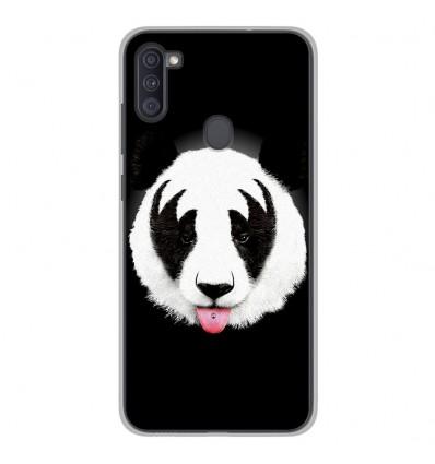Coque en silicone Samsung Galaxy A11 - RF Kiss Of Panda