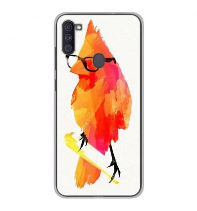 Coque en silicone Samsung Galaxy A11 - RF Punk Birdy