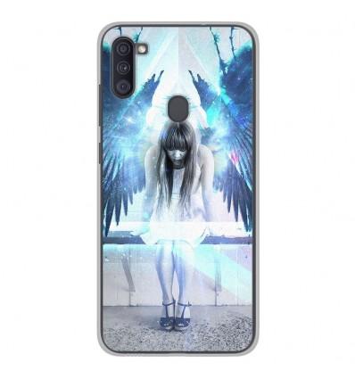 Coque en silicone Samsung Galaxy A11 - Angel