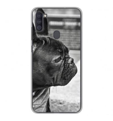 Coque en silicone Samsung Galaxy A11 - Bulldog